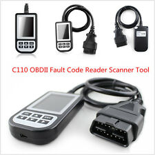 New C110 OBDII ABS Airbag Fault Code Reader Scanner Diagnostic Tool Multi-System