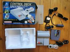 NES Control Deck Top Loader Nintendo NES Boxed Console W/ 3 IN 1 GAME MARIO TETR