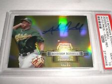 2012 Bowman Sterling Addison Russell Auto Pros. Gold Ref. #44/50 PSA 10 Gem MT