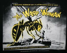 VTG 1996 Mosquitohead THE WASP WOMAN T-Shirt Mens Large Horror Movie Sci Fi Film