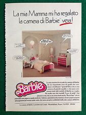 VV79 Pubblicità Advertising Clipping 19x13 cm (80s) BARBIE CAMERA MATTEL