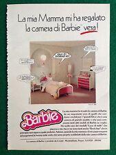 VV79 Pubblicità Advertising Clipping 19x13 cm (80s) BARBIE CAMERA MATTEL