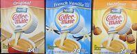 Nestle Carnation Coffee-Mate Creamer 24 Single Serve FLAVOR CHOICES PICK ONE