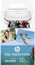 New HP - 1RF42A - Sprocket Photo Paper - 50 Sheet Pack