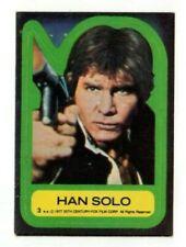 1977 Topps Star Wars Sticker Han Solo