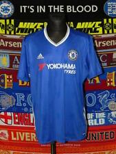 5/5 Chelsea adults XXL 2016 home original football shirt jersey trikot soccer