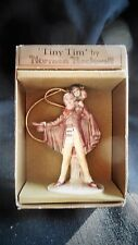 "Gorham - 1979 Norman Rockwell Hanging Figure ""Tiny Tim"""