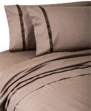 Waterford Riley Luxury Standard Pillowcases Cocoa Espresso $224