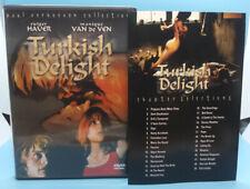 Turkish Delight DVD, Rutger Hauer, Paul Verhoeven Anchor Bay w/ Insert Rare OOP