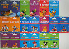 19 Different DISNEYLAND Passport Disney Gift Cards 2010: Fantasmic, Mickey++(+4)