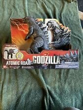 "2014 BAN DAI GODZILLA ATOMIC ROAR - LIGHT AND SOUND - 11"" - NEW With Pull Tag"