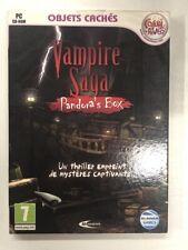 Objetos Ocultos Vampiro Saga Pandora's Box Juego PC Cd-Rom Nuevo en Blister c2