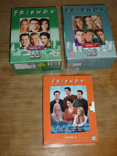 SAMMLUNG DVD FRIENDS 15DVDs Box Set Staffeln 6 + 7 + 9 in englisch / französisch
