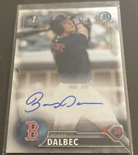 2016 Bowman Chrome Draft Bobby Dalbec ROOKIE RC AUTO AUTOGRAPH #CDA-BD Red Sox