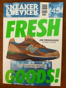 Sneaker Freaker magazine issue 45  New Balance Joe Fresh Goods