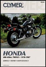CLYMER MANUAL HONDA CB450SC NIGHTHAWK 1982-1983 & 1985-86, CMX450C REBEL1986-87