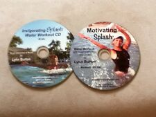 Water Aerobic Workouts Aqua Exercise TWO CDs (MS/IS) NEW aquatic fitness
