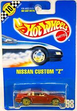 Hot Wheels #98 Nissan Custom Z guh, Gold Ultra Hot Wheels - RARE