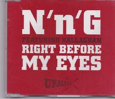 NNG-Right Before My Eyes cd maxi single