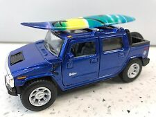 Hummer H2 SUT 2005 Surfboard1:40-Scale KT.5097.DS Blue