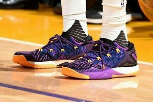 Adidas Crazylight Boost Low 2016 Lakers Player Edition PrimeKnit Ultra 11.5