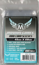 Mayday Silver Games Card Sleeves Mini Euro (45mm X 68mm) (100) 7035