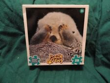 Otter Peek-a-boo Jigsaw Puzzle 25 piece Puzzle Paws