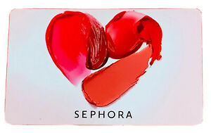❤️Sephora💋Gift Card 💋❤️💋❤️💋Make Someone Happy 💋❤️❣️❣️❣️