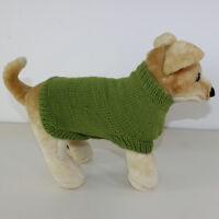 PRINTED KNITTING PATTERN INSTRUCTIONS -  DOG COAT CIRCULAR KNITTING PATTERN