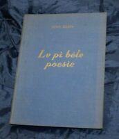 LE PI BELE POESIE  NINO COSTA Libro Tipografia Torinese 1949 TU