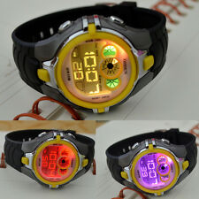 OHSEN Sport Digital AL School Watch For Child Boy Girl Wrist Watches Gray Yellow