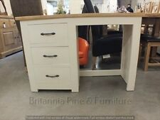 SHABBY CHIC  PAINTED SINGLE DRESSING TABLE HAND MADE DISTRESSED BESPOKE