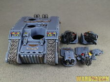 25mm Warhammer 40K Wds painted Space Wolves Land Raider w8