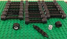 ☀️NEW Bulk Lot - 20 Tire Wheel Rim Black 1x4 Axel Sets (100 pieces)