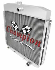 Champion 3 Row Aluminum Radiator for 1957 - 1960 Ford F-100 Chevy Configuration