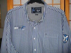 BASEFIELD    Sylt Limited Edition   3XL    Blau / Weiß    gestreift      Cotton
