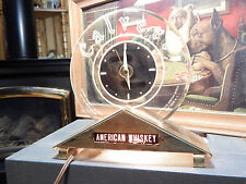 Vintage Calvert American Whiskey Cash Register Light Up Clock/Sign