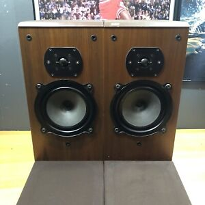 Vintage B&W DM22 Bowers and Wilkins Speakers Loudspeakers Hi Fi Rare Vintage