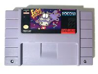 RARE! EEK THE CAT Super Nintendo SNES GAME AUTHENTIC Tested Working