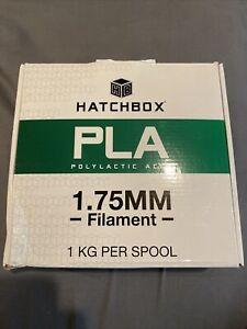 HATCHBOX 3D PLA-1KG1.75-BLK 1.75 mm -1 Kg Spool
