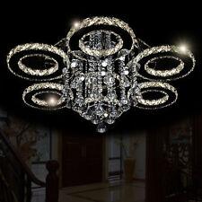 XL Deckenlampe Kristall LED Deckenleuchte Hängelampe Kronleuchter Hängeleuchte