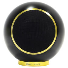 Elipson Planet L 80th Anniversary Spherical Speakers (Pair) - Satin Black/Gold