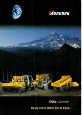 Morooka Trax Carrier  Brochure / Leaflet 2000 1044A