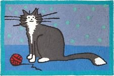 """""""It's A Kitty Thing"""" Area Rug 21""""x33"""" Indoor/Outdoor Machine Washable"""