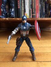 "Marvel legends 6"" ww2 captain america mandroid baf series hasbro"