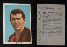 ***CALCIOCAMPIONI E.D.I. (EDI) 1961/62*** ZAGATTI - MILAN
