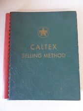 Caltex Selling Method Binder From Sales Analysis Institute Conferences 1940/41