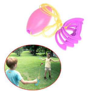 Kids Jumbo Speed Balls Through Pulling The Ball Indoor Outdoor Games Toy Gift-
