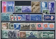 Italia repubblica 1951 annata completa 29V mnh
