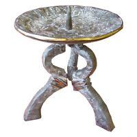 Hochzeitskerzen Leuchter Ständer Bronze Edelpatina  wedding candle holder